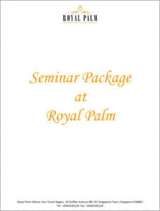 Royal Palm Seminar Package 1