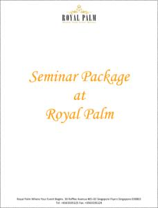 Royal Palm Seminar Package 1