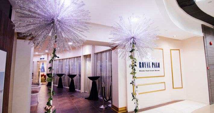 Royal Palm Wedding Event Entrance