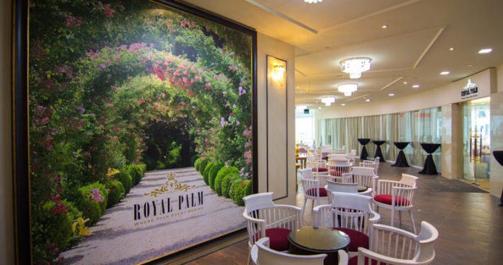 Royal Palm Wedding Event Reception Area